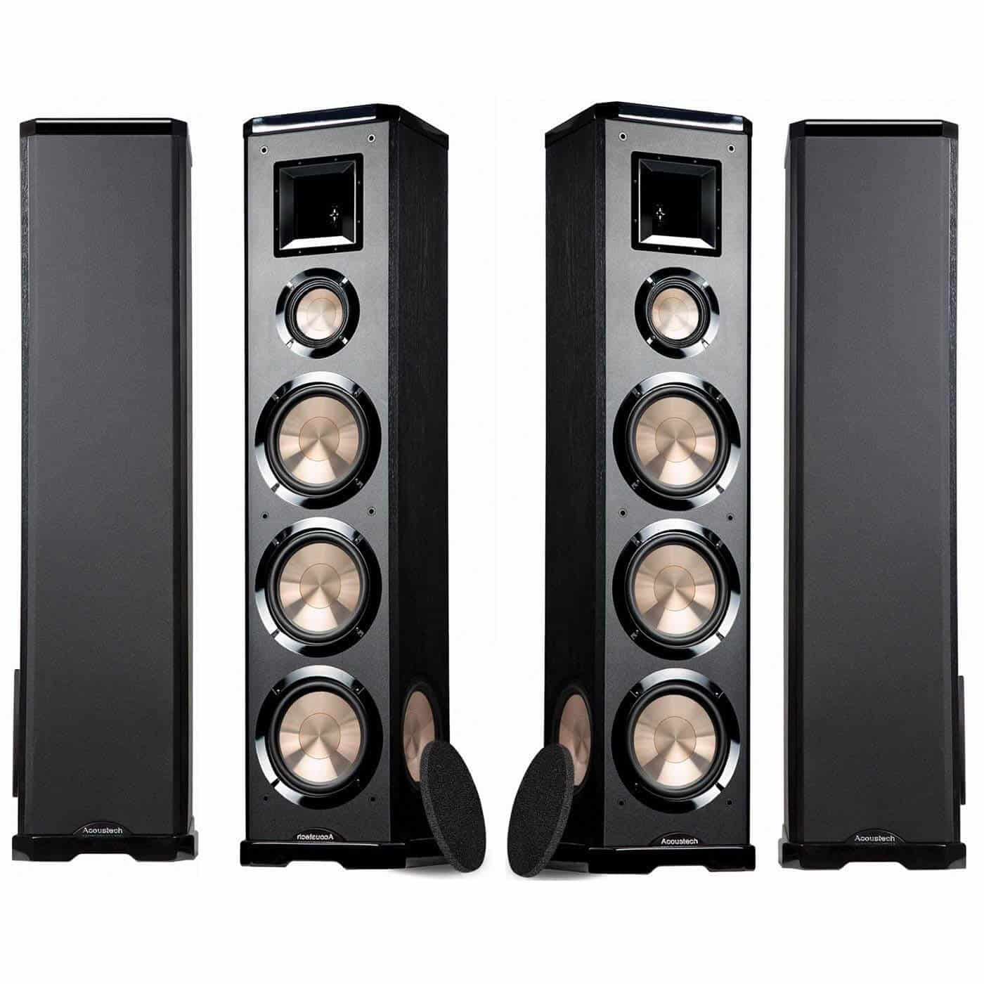 Powered Floor Standing Speakers