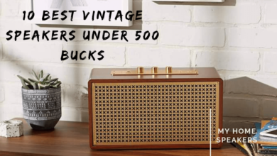 best vintage speakers under 500