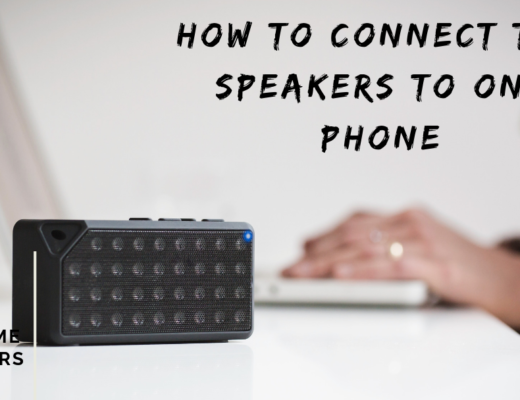 How to connect two speakers to one phone