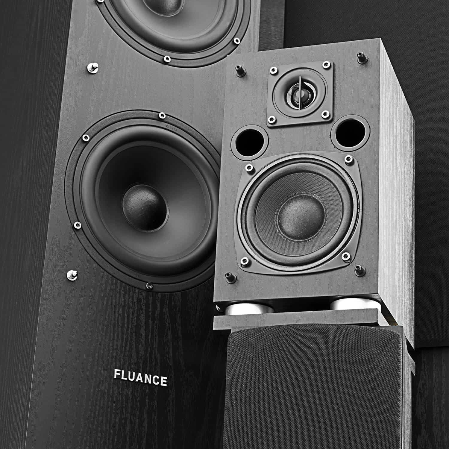 Fluance SXHTB-BK High Definition Surround Sound Home Theater