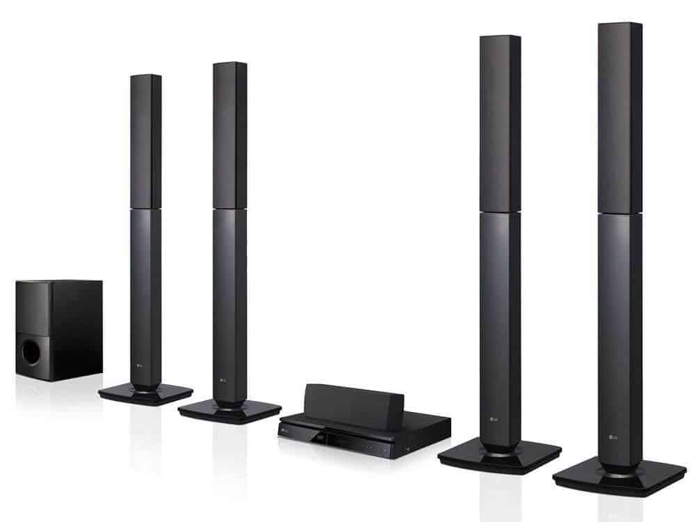 LG Bluetooth Multi Region Home Theater Speaker System