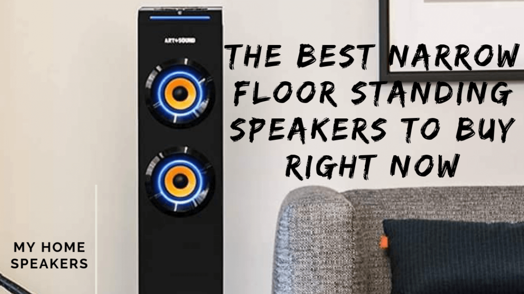 narrow floor standing speakers