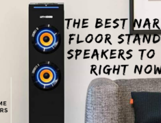 The best narrow floor standing speakers to buy right now