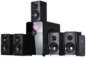 beFree 5.1 Channel Surround Bluetooth Speaker System