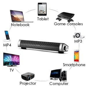 ELEGIANT USB Powered Sound Bar