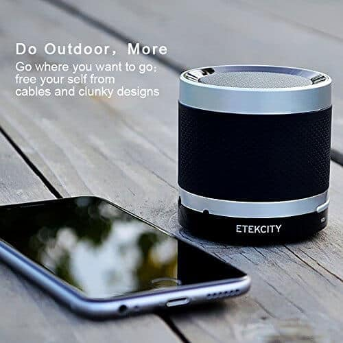 Etekcity Ultra Portable Bluetooth Speaker