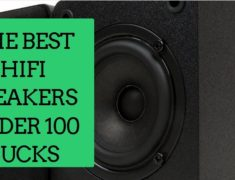 The best HiFi speakers below $100