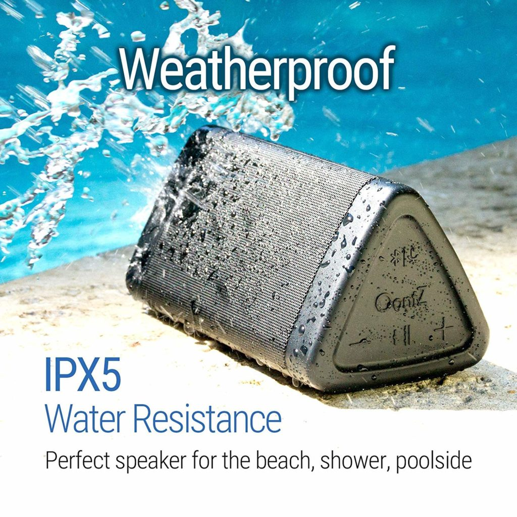 OontZ Angle 3 Splashproof Portable Bluetooth Speaker