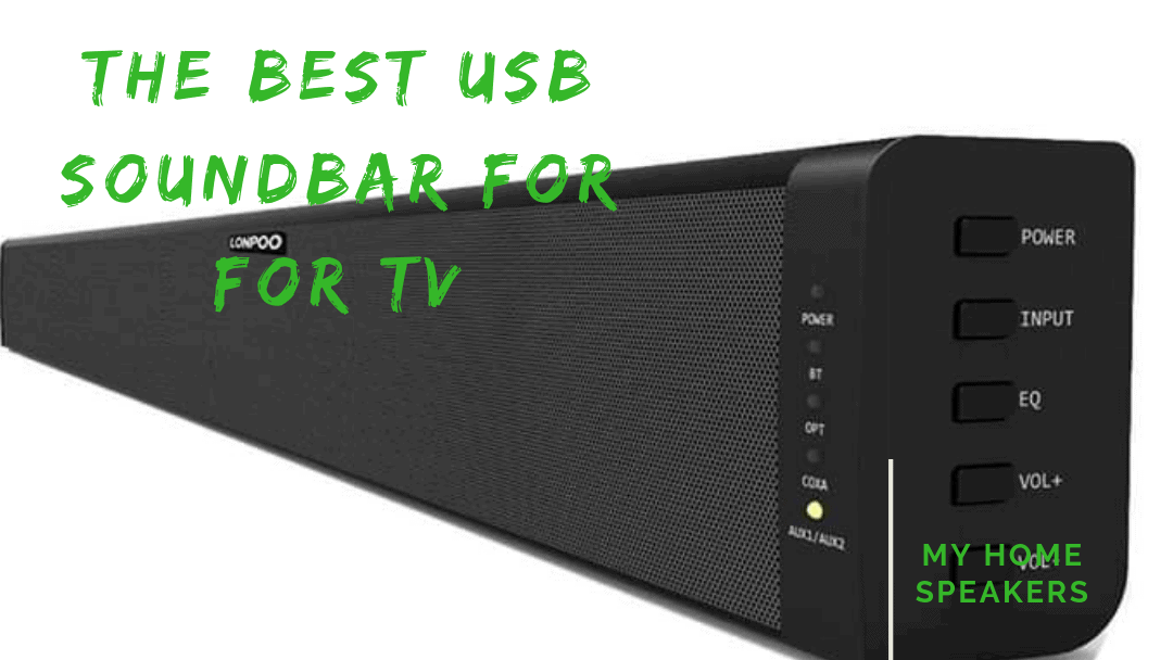 usb soundbar for tv