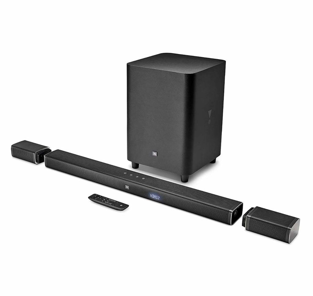 JBL Bar Soundbar with Wireless Surround Speakers