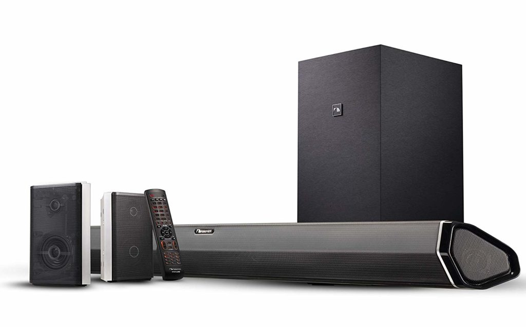 Nakamichi 45-Inch Sound Bar with Subwoofer & 2-Way Rear Surround Speakers