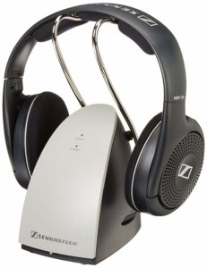 Sennheiser RS120 On-Ear Wireless RF Headphones