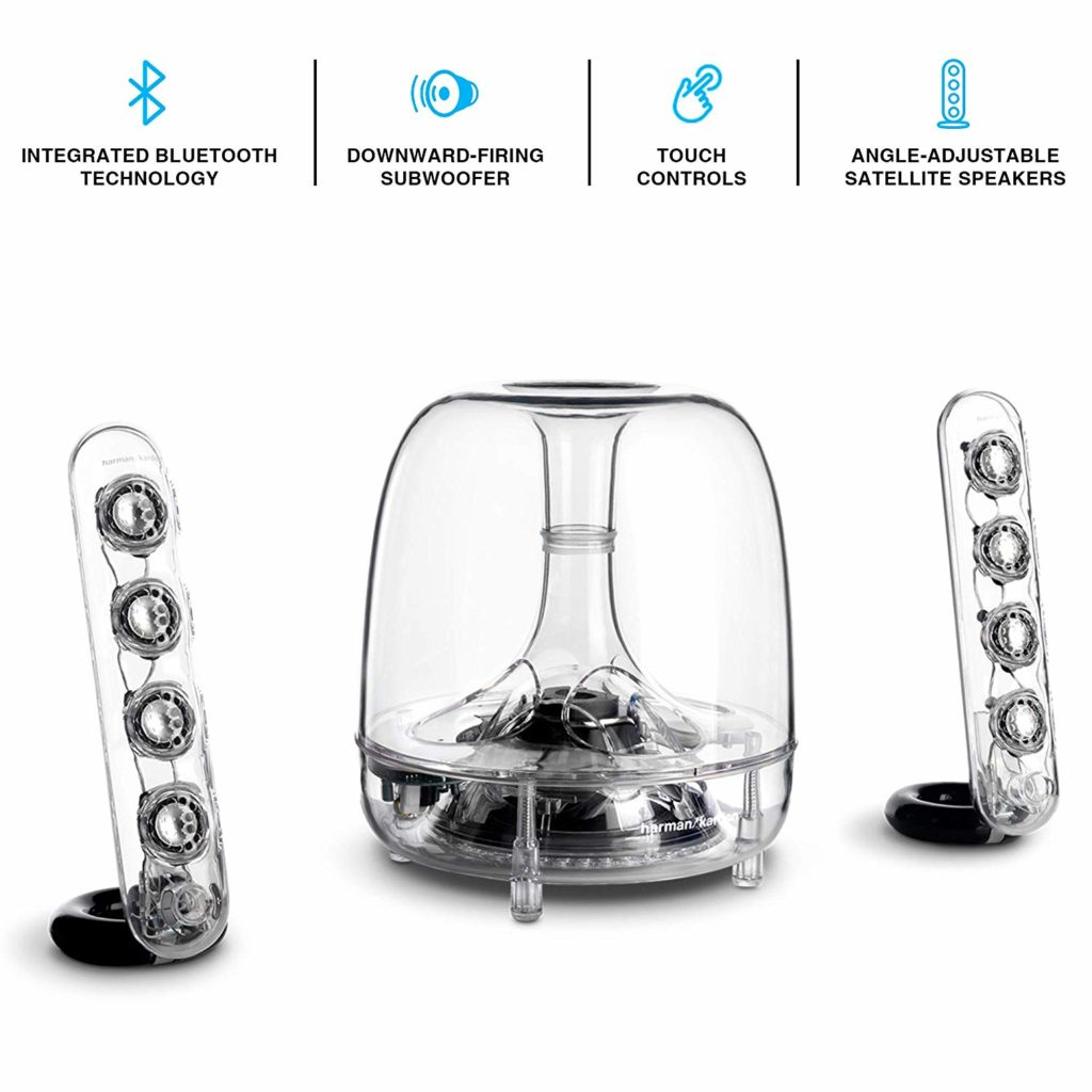 Harman Kardon SoundSticks Wireless Bluetooth Enabled Speaker