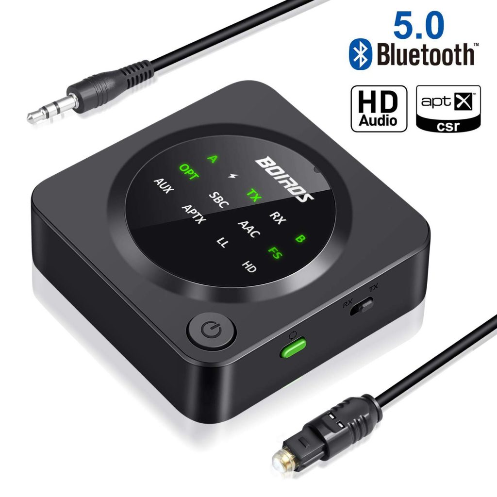 BOIROS  Bluetooth 5.0 Transmitter Receiver