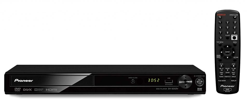 Pioneer DV-3052 Multi System All Region HDMI Player