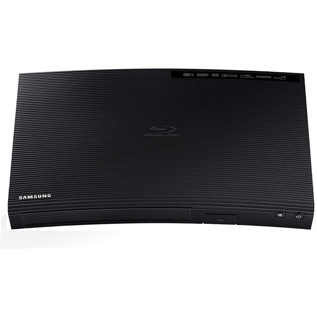 Samsung Blu-ray DVD Disc Player With Built-in Wi-Fi