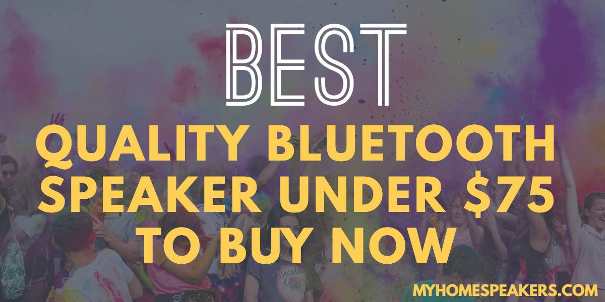 best bluetooth speaker under $75