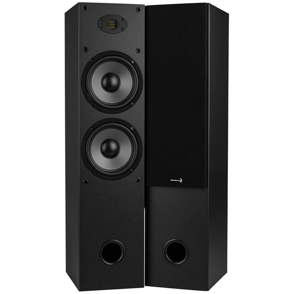 Dayton Audio T652-AIR Dual 2-Way Tower Speaker
