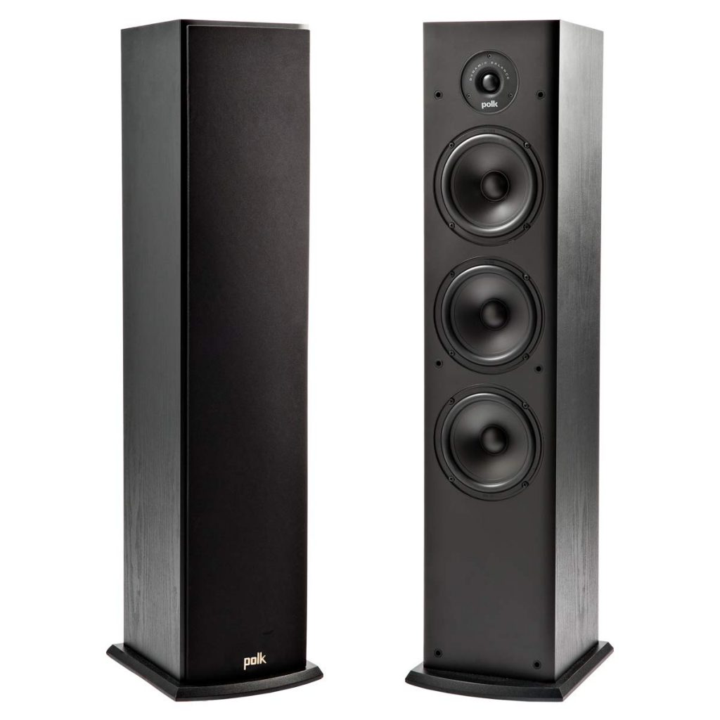 Polk T50 150 Watt Home Theater Floor Standing Tower Speaker