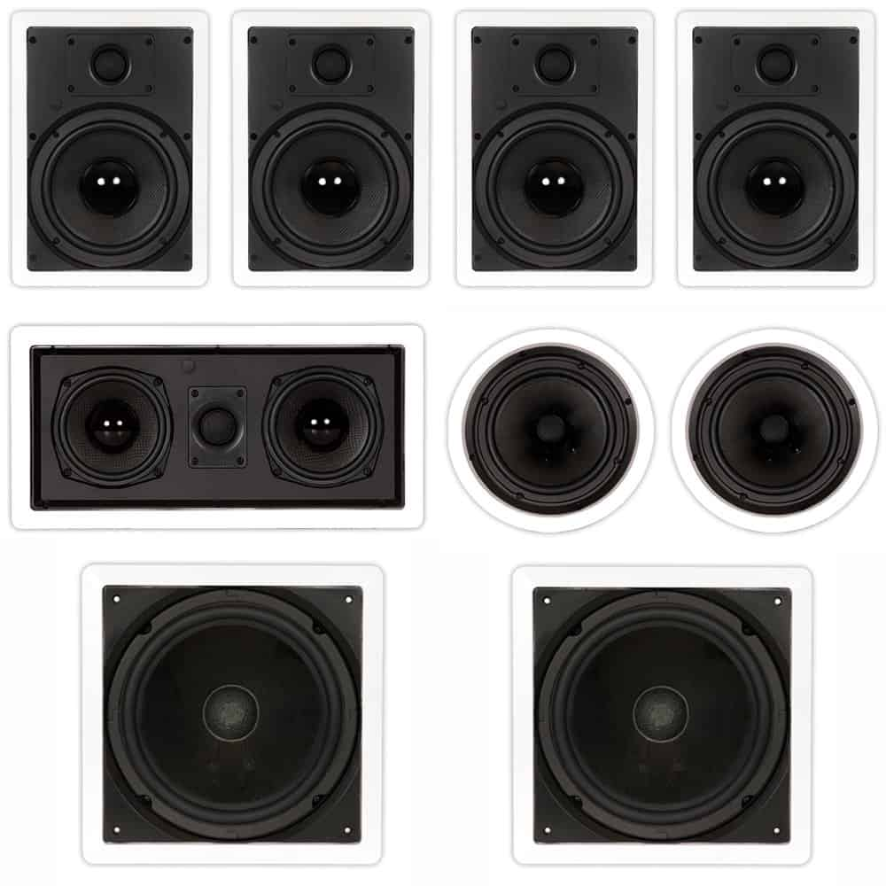 Theater Solutions TST87 in Wall and in Ceiling Speakers