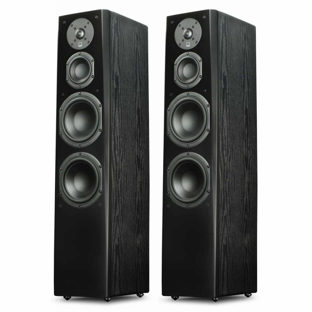 Black Ash Pair SVS Prime Tower Speaker