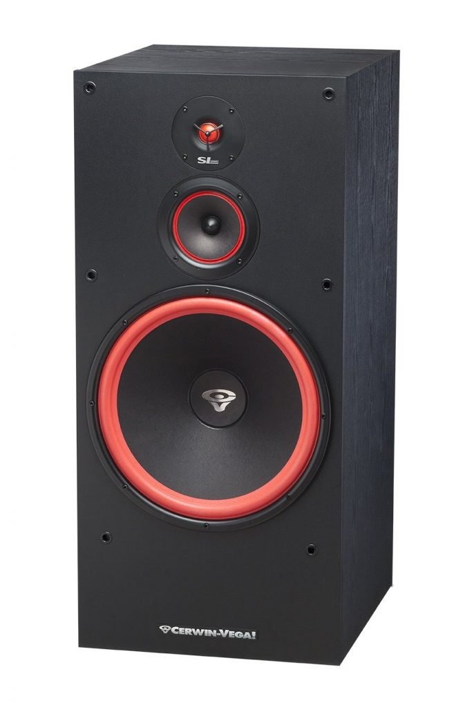 Cerwin-Vega SL-15 3-Way Floor Tower Speaker