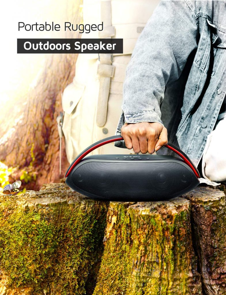 VTIN Portable Outdoor Bluetooth Speakers