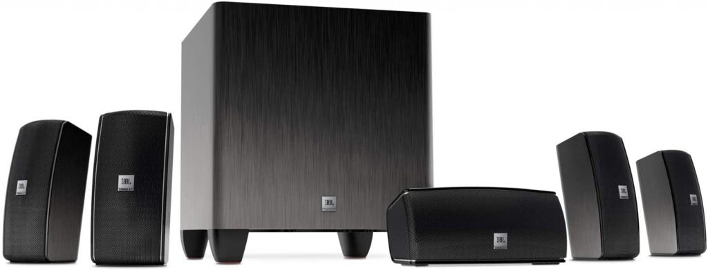 JBL Cinema 610 Advanced 5.1 Home Theater Speaker System
