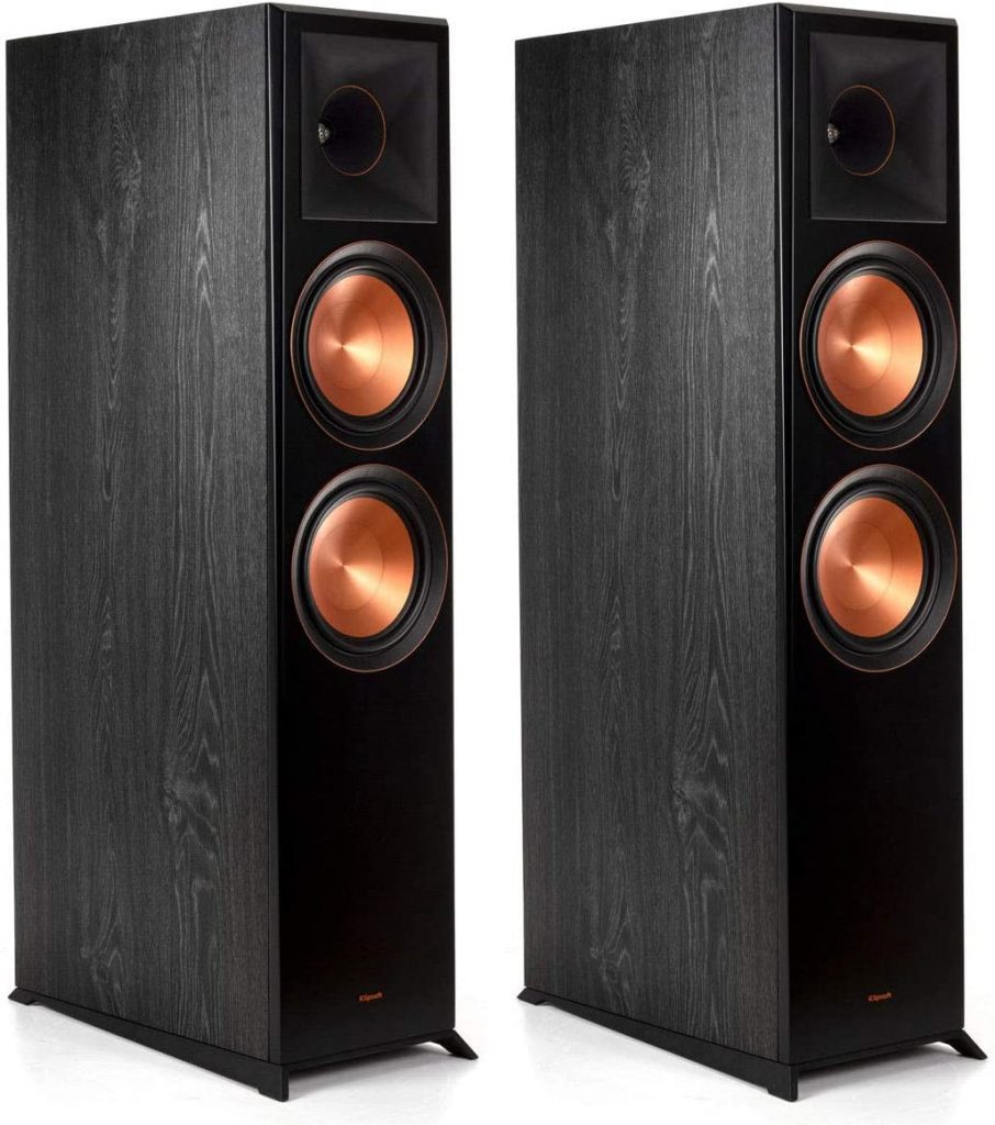 Ebony Pair KLIPSCH RP-5000F  Floorstanding Speakers