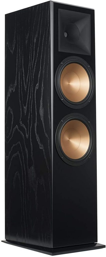Black Ash Klipsch 1064559 RF 7 III Floorstanding Speaker 9 Top best Klipsch floor standing speakers