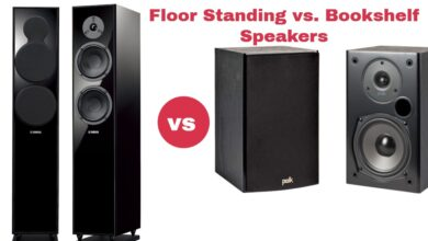 Floor Standing vs. Bookshelf Speakers