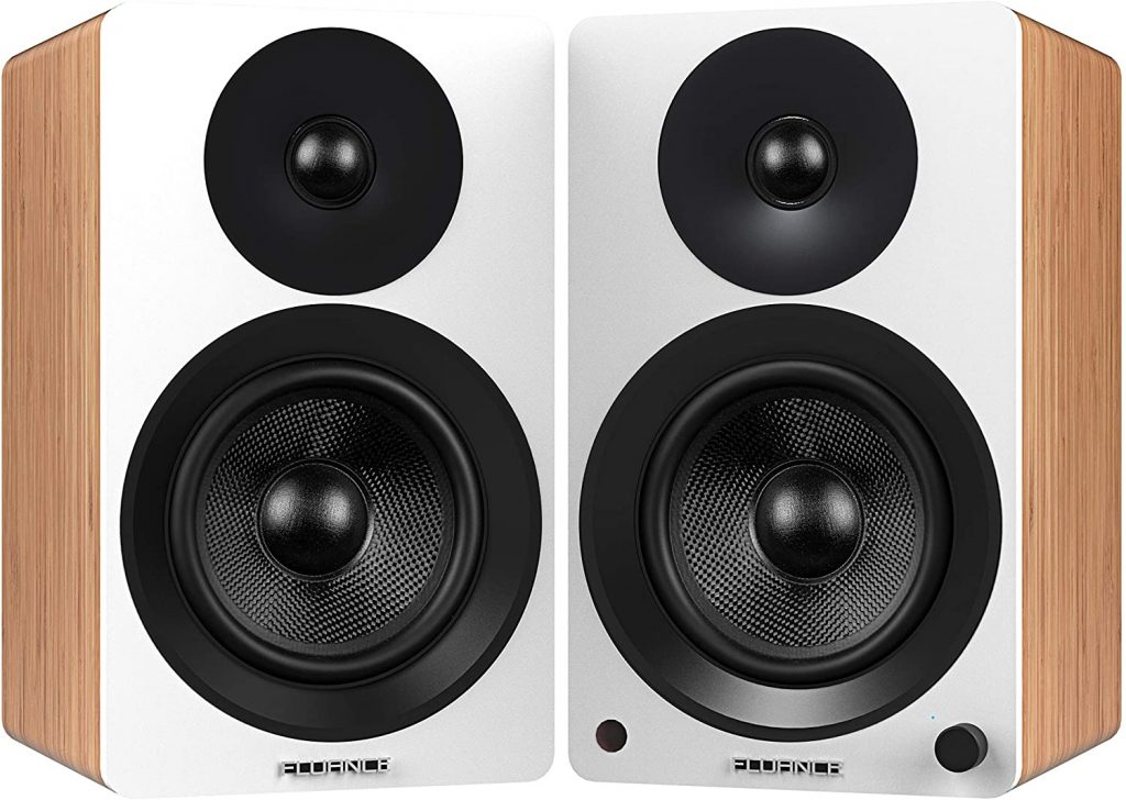 Fluance Ai60 High Performance Powered Bookshelf Speakers