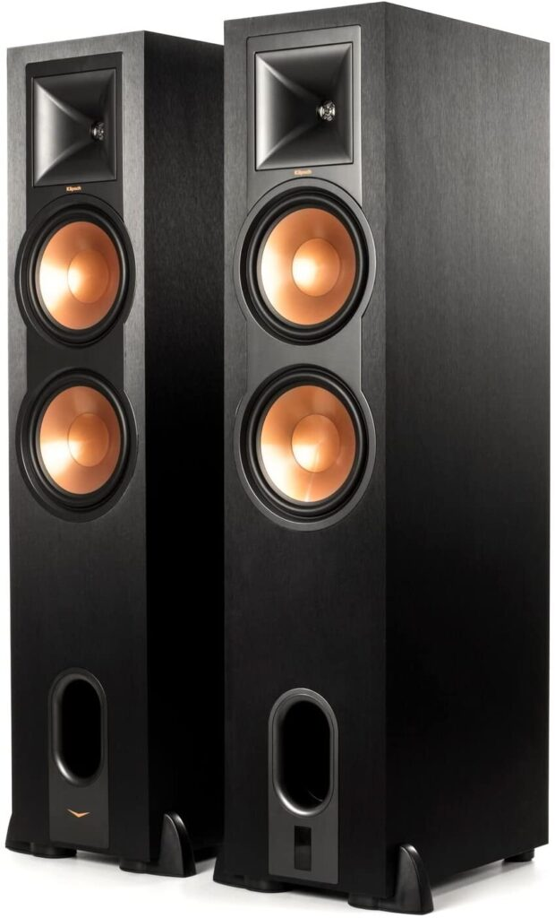 klipsch floor standing speakers