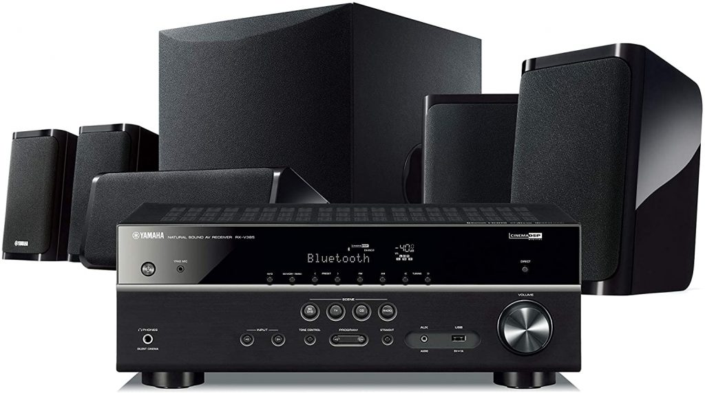 Yamaha YHT-5950UBL 4K Ultra HD 5.1-Channel Home Theater System