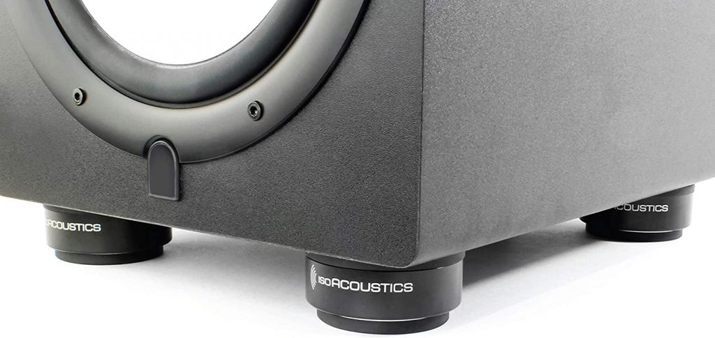 IsoAcoustics ISO-PUCK isolators