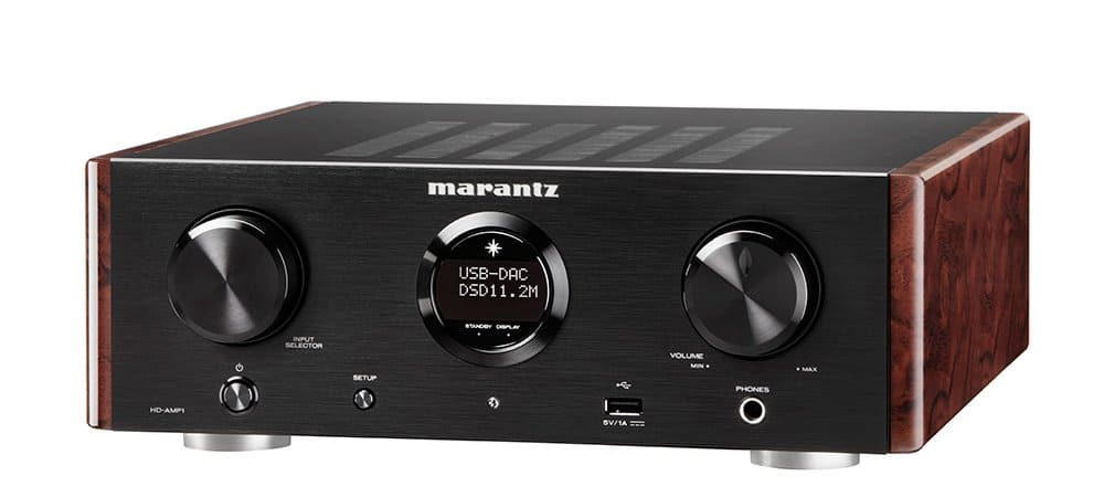 Marantz HD-AMP1 - Stereo Integrated Amplifier with Built-in DAC Premium Sound Quality