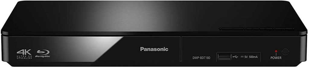Panasonic DMP-BDT180EB 3D Smart Blu-Ray Player