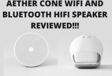 Aether Cone Wifi And Bluetooth HiFi Speaker Review