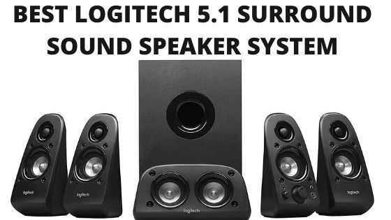 Logitech 5.1 surround sound speaker system