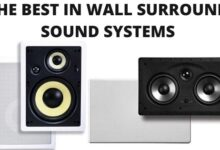 In Wall Surround Sound Systems