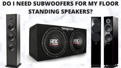 Do I Need Subwoofers For My Floor Standing Speakers