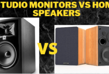 Studio Monitors Vs Home Speakers