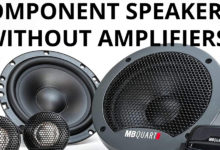 Component Speakers Without Amplifiers