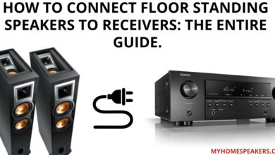 How To Connect Floor Standing Speakers To Receivers